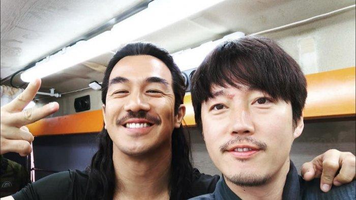 Joe Taslim Adu Akting Bareng Jang Hyuk di Film The Swordsman