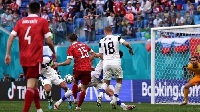 Hasil EURO, Skor Finlandia vs Rusia 0-1, Belgia Masih Puncaki Klasemen Grup B Euro 2020