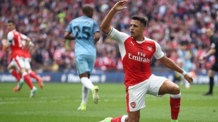 Alexis Sanchez Juga Paling Banyak Bikin Gol di Stadion Wembley