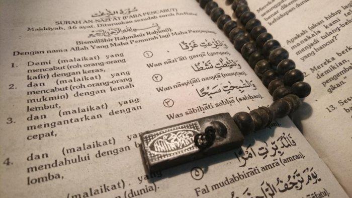 Tadarus Al Quran: Surah An Naziat Amalan Masuk ke Surga dengan Wajah Berseri-seri