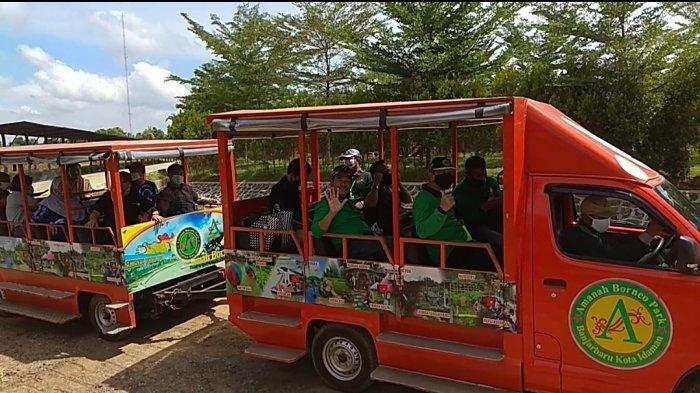 Enam Bulan Tutup, Taman Rekreasi dan Edukasi Amanah Borneo Park (ABP) Kalsel Kembali
