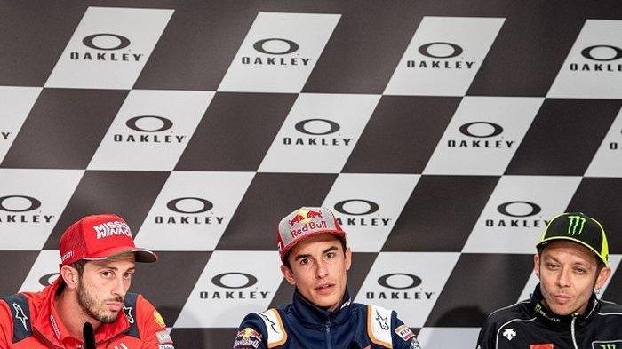 MotoGP 2019 - Marc Marquez Kini Merasa Lebih Unggul Dibanding Valentino Rossi dan Andrea Dovizioso