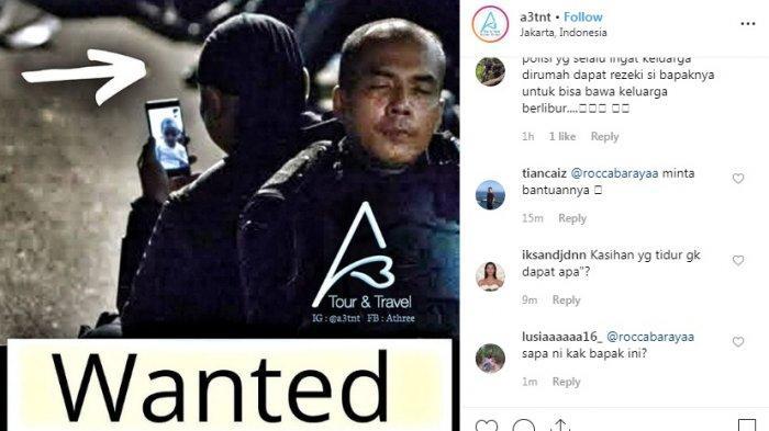 Viral Anggota Brimob Video Call dengan Anak Saat Jeda Demo 22 Mei, Dapat Tawaran Liburan Gratis