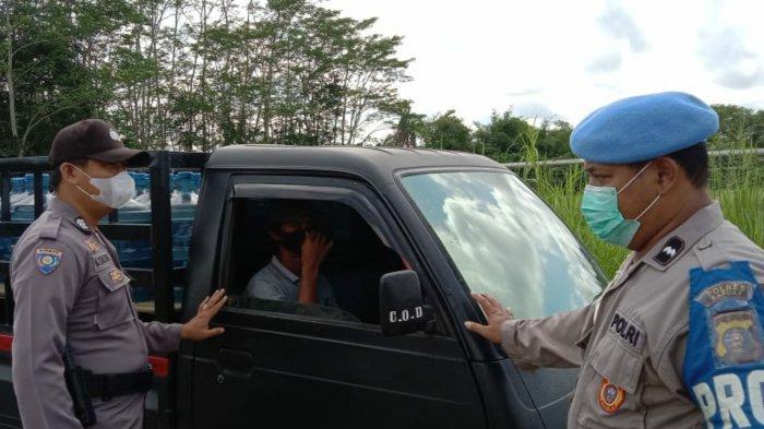 Disiplinkan Warga Gunakan Masker, Operasi Yustisi Digelar di Pulau Petak Kapuas