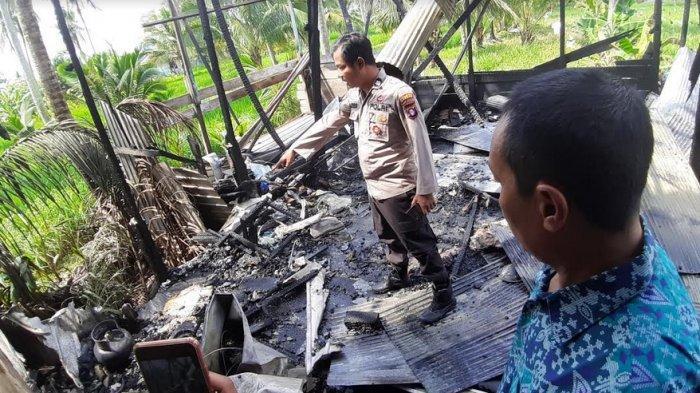 Kompor Diduga Jadi Penyebab Kebakaran Dapur Tambahan Ruko Tingkat Dua di Kualakapuas Kalteng