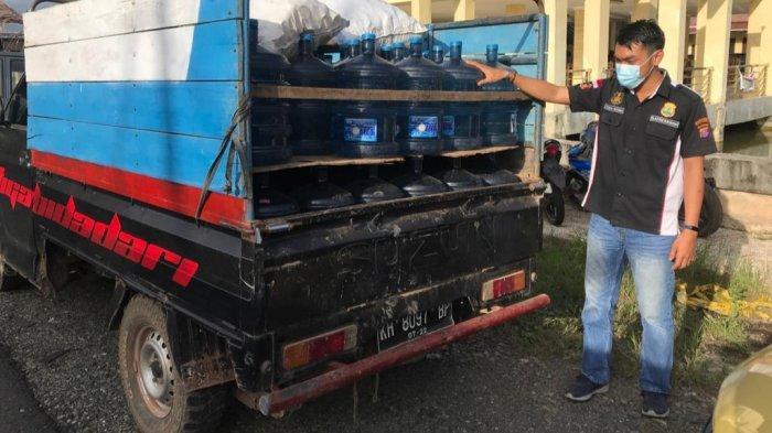 Pemilik Depot Air Minum Isi Ulang di Kapuas Diamankan Polisi, Ini Ternyata Sebabnya