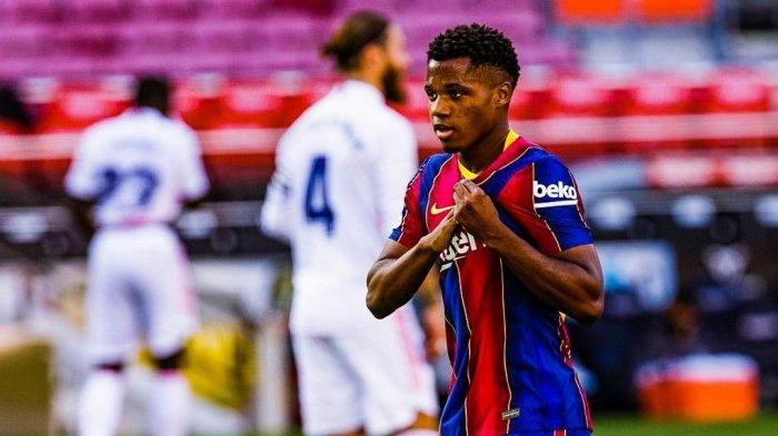 Ansu Fati Absen Panjang, Titisan Lionel Messi Cedera dan Baru Bisa Main Tahun Depan