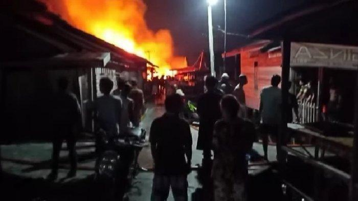 Kebakaran di Palangkaraya, 22 Bangunan di Mendawai Jadi Arang Diamuk si Jago Merah