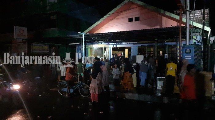 Setengah Jam, Api di Rumah Makan Padang Ombilin Kualakapuas Bisa Dipadamkan