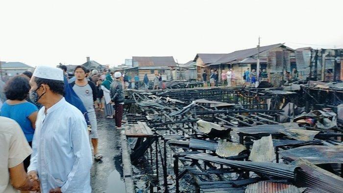Kebakaran di Palangkaraya, 1 Orang Warga Mendawai Alami Luka Bakar Cukup Parah Terjilat Api