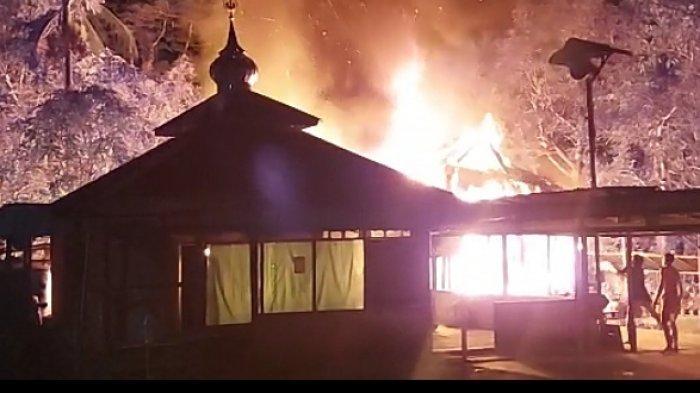 Sebagian Besar Harta Bastiah Musnah, Tengah Malam Api Membara di Handilbabirik Tanahlaut