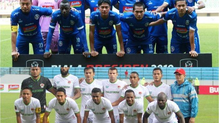 Kalteng Putra Vs Arema FC Hari Ini, Berikut Catatan Kedua Tim ke Semifinal Piala Presiden 2019