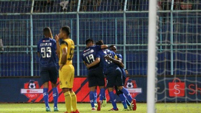 Arema FC ke 3 Besar, Barito Putera Tak Beranjak dari Posisi 15 Klasemen Liga 1 Pekan ke-15