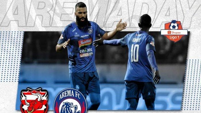Hasil Arema FC di Liga 1, Skor Arema FC vs Bhayangkara FC Hari Ini 2-0, Live Streaming Vidio.com