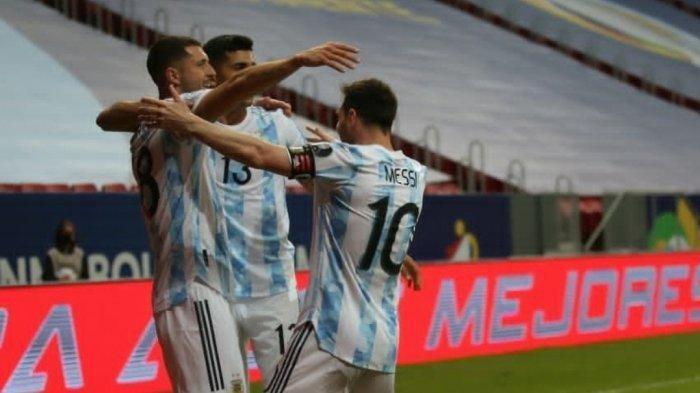 Sesaat Lagi Live Indosiar, Argentina vs Paraguay di Copa America 2021, Berikut Link Live Streaming