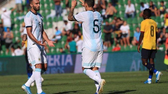 Timnas Argentina Menang Telak 6-1 Atas Ekuador Meski Tanpa Sang Kapten Lionel Messi