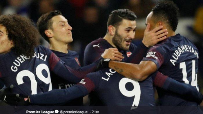 The Gunners Gagal Lampaui Chelsea di Liga Inggris Pekan ke-19 Usai Kontra Brighton