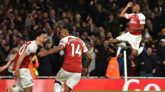Hasil Arsenal Vs Leicester City - Ini Kemenangan Beruntun ke-10 The Gunners di Liga Inggris