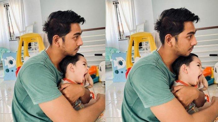 Heboh Foto Arya Saloka Pangku Anak Saat Bangun Tidur, Berewok Aldebaran Bikin Gagal Fokus