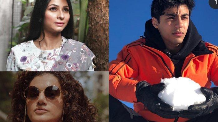 Aksi Tanishaa Mukherji Minta Aryan si Anak Shah Rukh Khan Dibebaskan, Taapsee Pannu Ikut Buka Suara