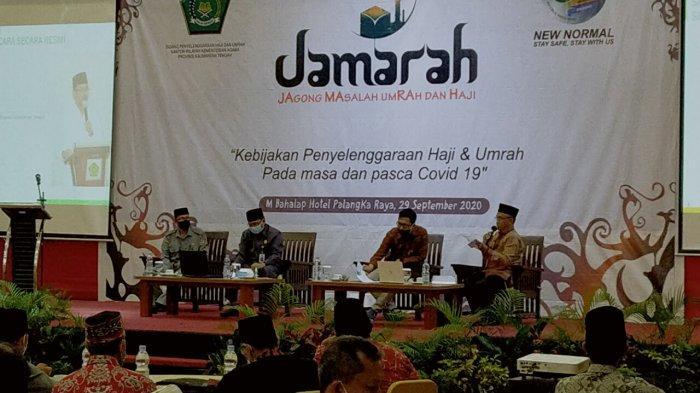 Kanwil Kemenag Kalteng Gelar Jamarah Bahas Masalah Haji dan Umroh