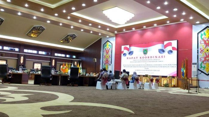 KaltengPedia: Gedung Megah Jayang Tingang Berornamen Dayak