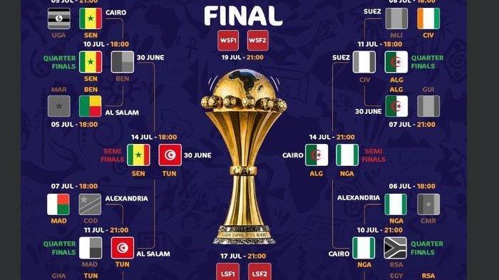 Ini Hasil Perempat Final dan Jadwal Semifinal Piala Afrika 2019, Nigeria Berpeluang Juara