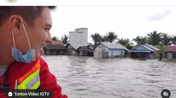 Jalan Rusak Karena Banjir, Kerugian Pemprov Kalsel Capai Rp 985 Miliar Lebih
