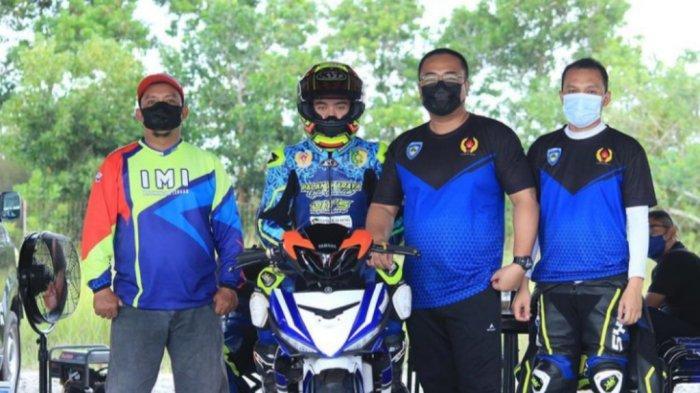 Pembalap Motor Kalteng Latihan Fisik di Masa Karantina Sebelum Berangkat ke PON XX Papua