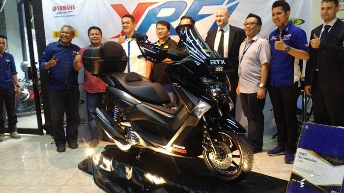 NMAX YRFI Limited Edition Bikin Bikers Tak Perlu Pusing Bikin Modifikasi