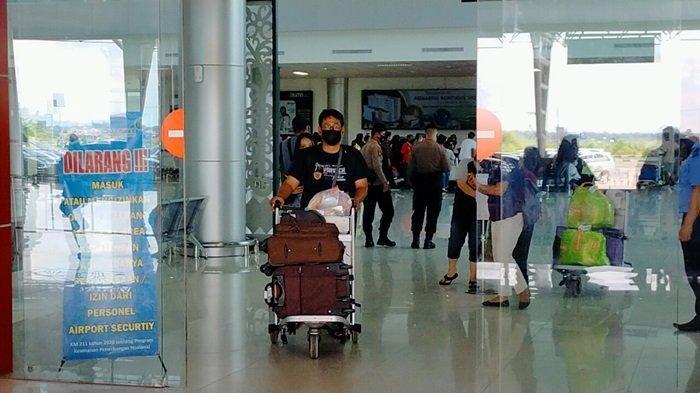 Polresta Palangkaraya Aktifkan Pos Penyekatan di Bandara Tjilik Riwut Palangkaraya Kalteng