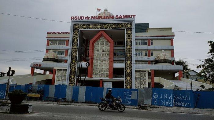 Dampak Covid-19, Gedung Baru Rumah Sakit dr Murjani Sampit Belum Dioperasionalkan