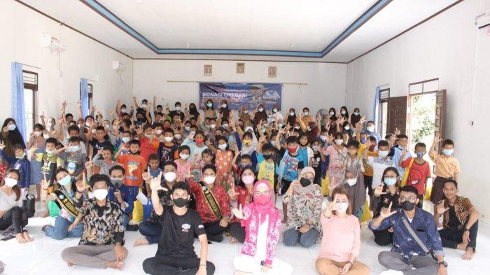Aliansi Pemuda KaltengBantu Hilangkan Trauma Anak Korban Banjir Kalimantan Tengah