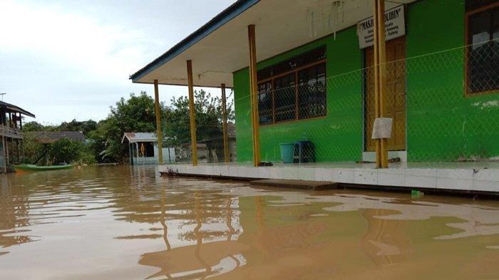 Banjir di Kapuas, Berikut Data Sementara Banjir di Enam Kecamatan Wilayah Hulu Kapuas Kalteng