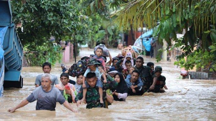 Banjir dan Longsor di Sulsel Tewaskan 23 Warga, 48 Hilang dan 5.000  Orang Mengungsi