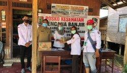 Puskesmas Katingan Terendam Banjir, Dinkes Bangun Pelayanan Kesehatan Lewat Posko