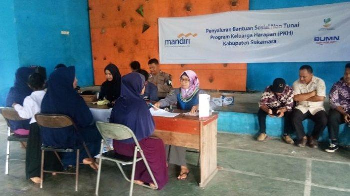 Bansos Program PKH Kalteng Mulai Disalurkan ke Sukamara , Ini Penjelasannya