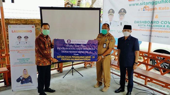 Covid-19 di Kalteng, Video Bank Indonesia Sumbang 110 Tabung Oksigen, 1.390 Pasien Meninggal