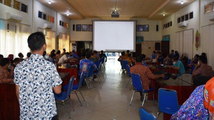 Pemkab Kapuas Implementasikan Aplikasi SIPD, Pelatihan Digelar Diikuti Operator