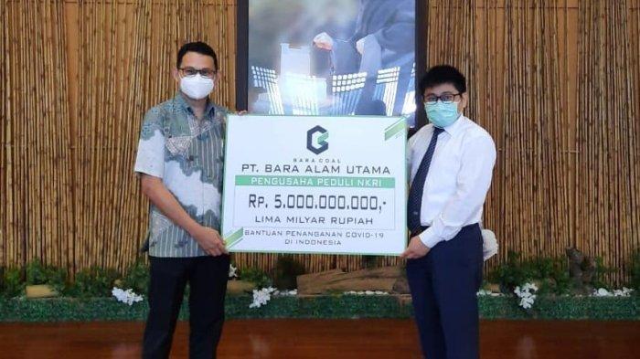 Pengusaha Banjarmasin Donasi Rp 5 Miliar untuk Bantuan Penanganan Covid-19 di Indonesia