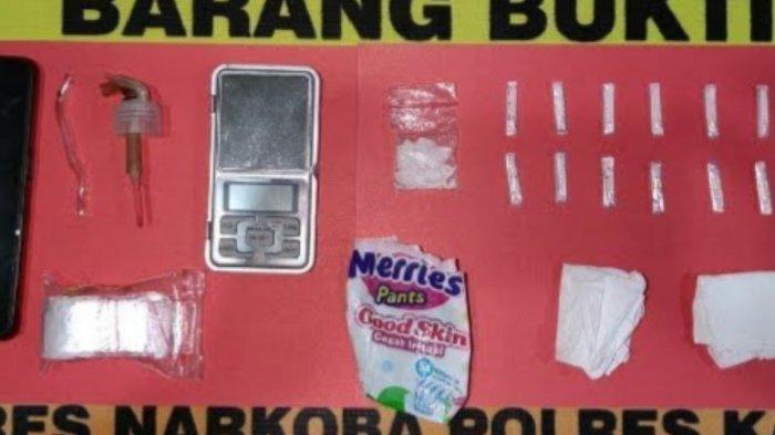 Pengedar Sabu Warga Selat Hulu Kapuas Diringkus Polisi, 13 Paket Sabu Disimpan di Rumah Kontrakan