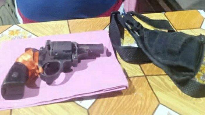 Pria Warga Kapuas DPO Kasus Pencurian Sawit di Kapuas Dibekuk, Senpi Rakitan Terselip di Pinggang