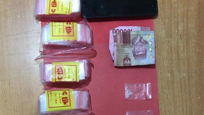Narkoba di Kotim, Tersangka Pria dan Wanita Bersembunyi di Kamar Mandi Saat Digerebek Polisi