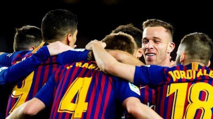 Kali Ini Pemuncak Klasemen Liga Spanyol Hajar Sevilla 6-1 Hingga ke Semifinal Coppa Italia