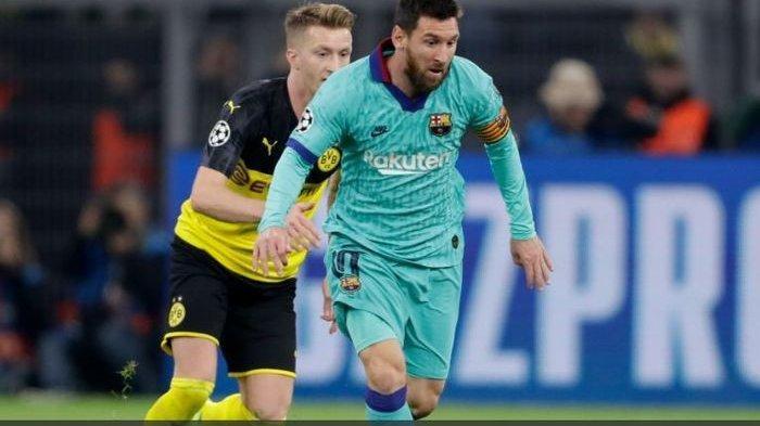 Kiper Marc-Andre ter Stegen Amankan Barcelona dari kekalahan Vs Borussia Dortmund di Liga Champions