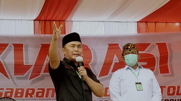Tugu Soekarno Jadi Tempat Deklarasi Bapaslongub Kalteng Sugianto- Edi Pratowo