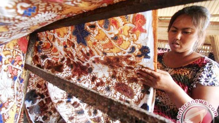 Pisang Bangkaran Jadi Motif Batik Barito Utara
