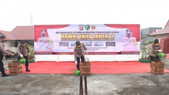 Kapolda Kalteng Cek Kesiapan Rumah Sakit di Palangkaraya Tangani Lonjakan Pasien Covid-19