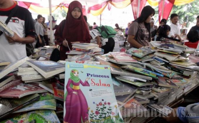Ada Buku Seharga Rp 5.000 di Gramedia Bazar