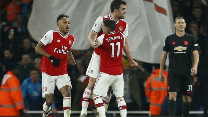 Klasemen Liga Inggris Setelah Laga Man United Vs Arsenal, The Gunners Tembus 10 Besar, Posisi MU?